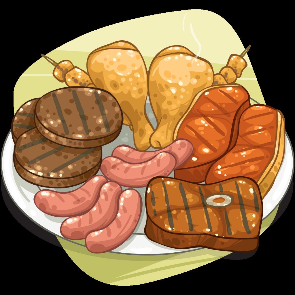 Cooked Meat Cartoon | www.pixshark.com - Images Galleries ...