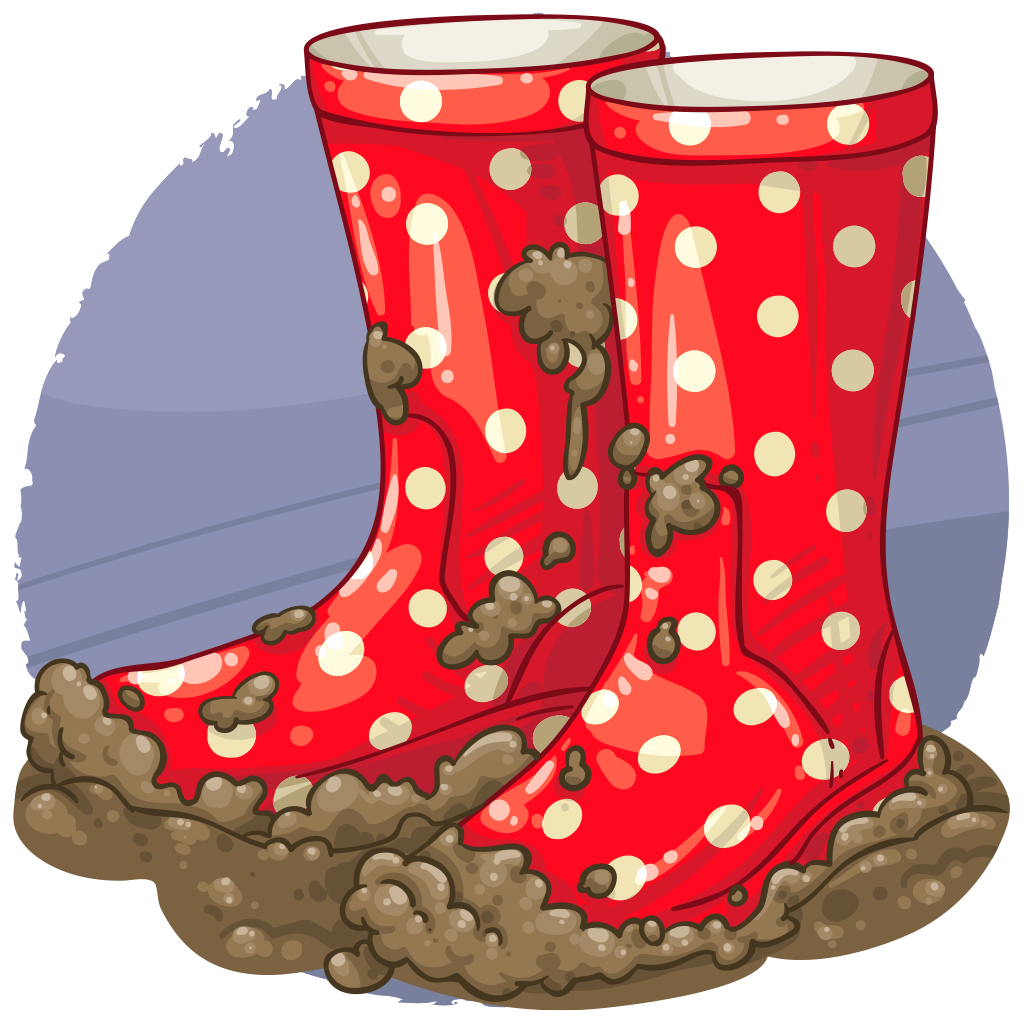 Image result for muddy wellies