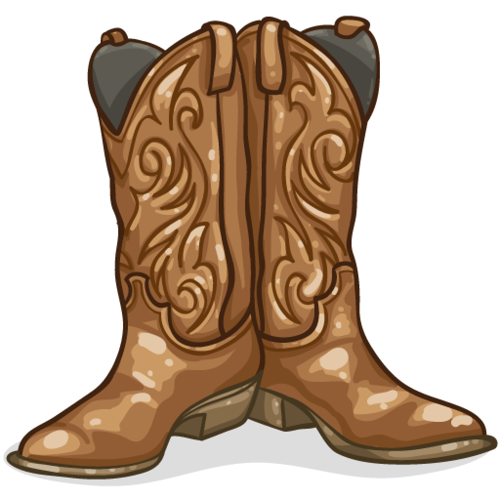 Image result for cowboy boots clip art