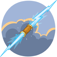 Zeus Lightning Bolt Wallabee Collecting And Trading Card Game On Ios Android