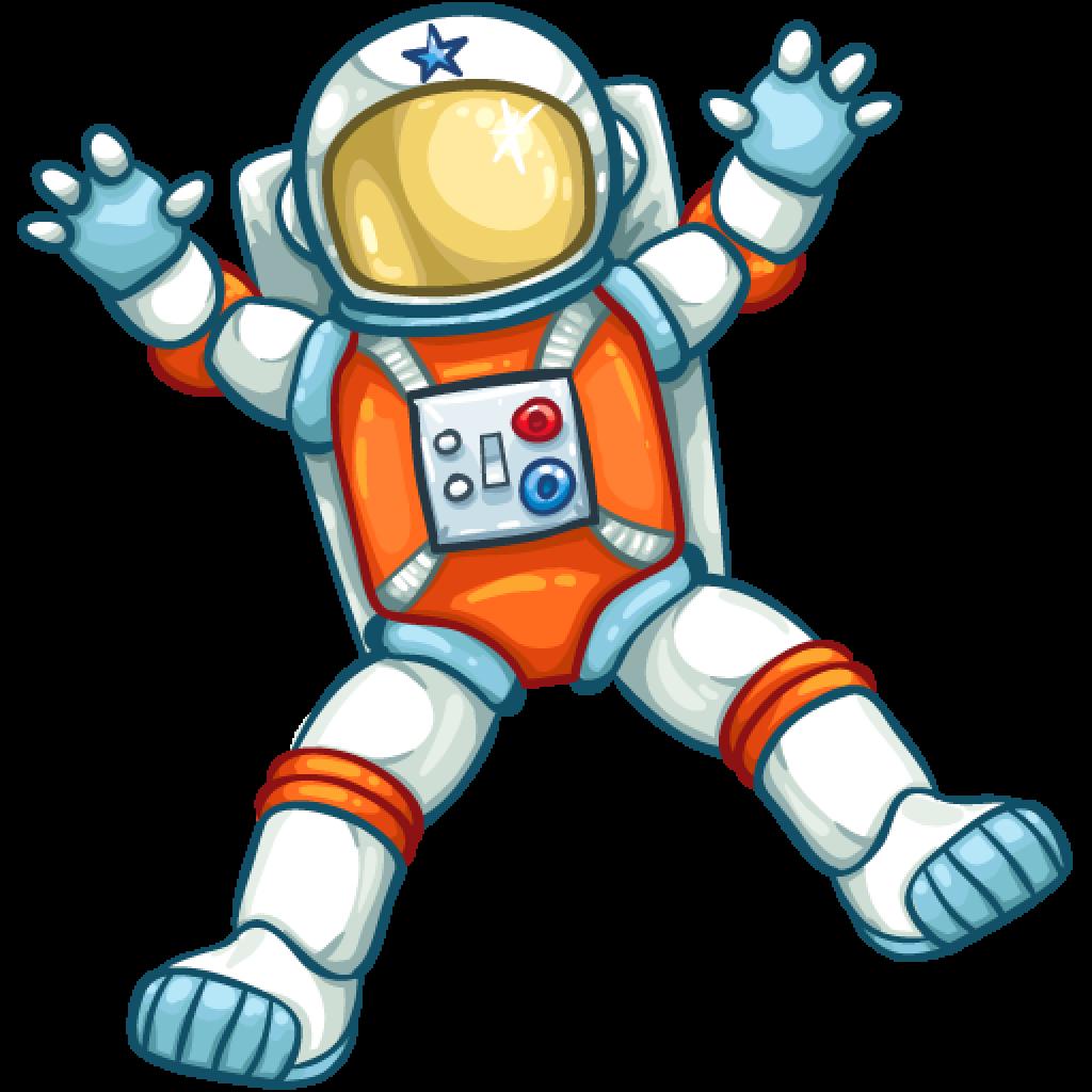 retro astronaut clip art - 991×1021