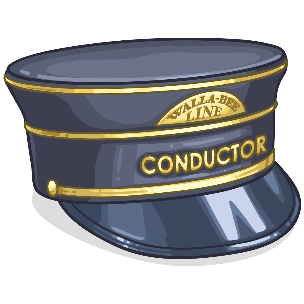 how to make a train conductor hat