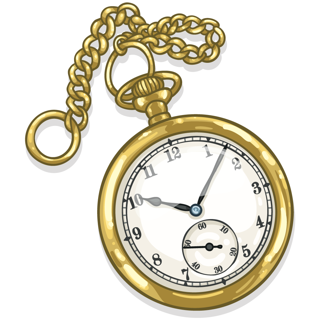 Item on Transparent Gold Chain