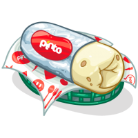 Pinto Burrito