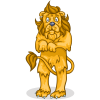 Scared Lion