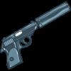 Silenced Gun