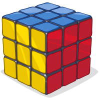 Solved Puzzle Cube