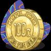 100c Coin