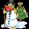 Bad Snowman Yote