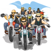 Biker Convoy