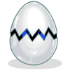 Egg without Stripes