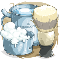Shaving Brush and Soap