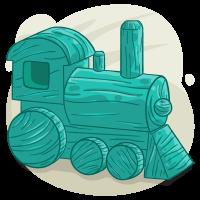 Aquamarine Train