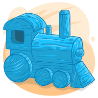 Light Blue Train
