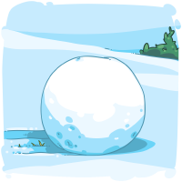 Large Snowball