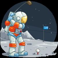 Lunar Golf
