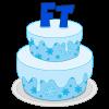Freeze Tag Birthday Cake