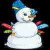 Flying Frosty