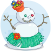 Gertie the Snowgirl