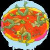 Frog leg pie