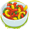 Cut Peppers
