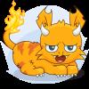 The Phoenix - Pouch Cat
