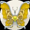 Peridot Butterfly