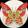 Garnet Butterfly