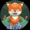 Smew's deep forest fox