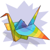 Greenstarfishaz's Paper Crane