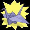 QueenofDNile's Paper Crane