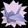 KnitPicky's Paper Crane