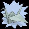 Ilovejooky's Paper Crane