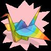 Justforfun33's Paper Crane