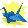 ShinyOshawott23's Paper Crane