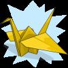 download dog's Paper Crane