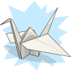 DragonflyKate's Paper Crane