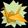 damonasaurus' Paper Crane