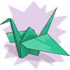 Viivi's Paper Crane