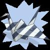 Scratchie's Paper Crane