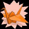 AzureSimkin's Paper Crane