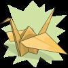 The World Beckons' Paper Crane