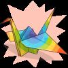 gelada's Paper Crane