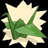 EmeraldAngel's Paper Crane
