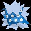 Curlymcg's Paper Crane