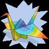 Sharkbait's Paper Crane
