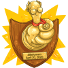 Gold Thumbs Up Plaque | Allinfunners