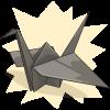 Corcevado's Paper Crane
