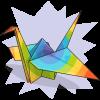 GeoHippieChelly's Paper Crane