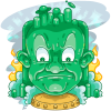 Giant Wizard Head